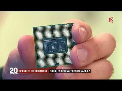 France 2   Journal 20h00   problème avec les processeurs intel