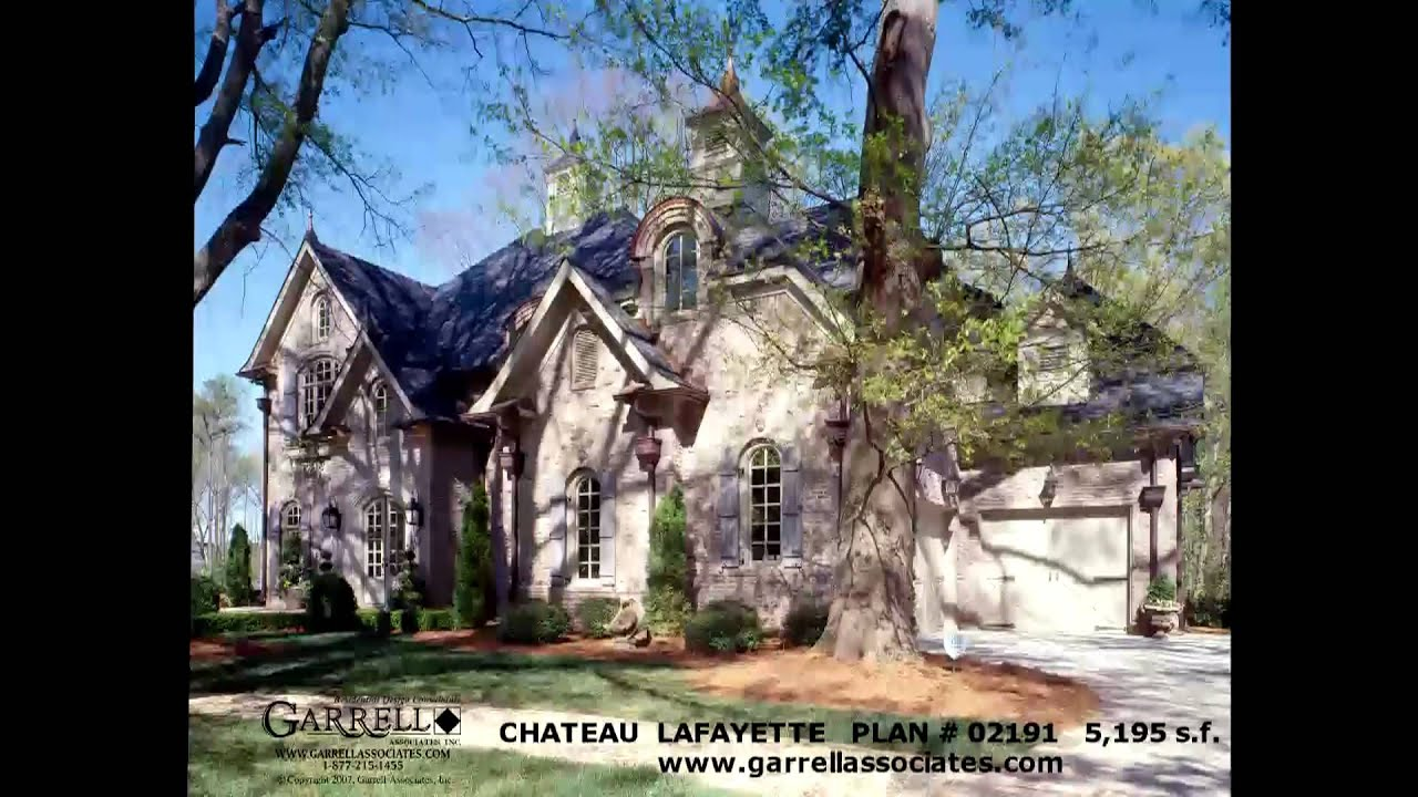 The chateau lafayette house plan 02191 by garrell for House plans lafayette la