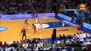 Mundial de baloncesto femenino 2014. Semifinal España-Turquía.
