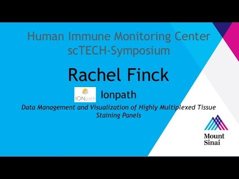 Mount Sinai HIMC scTECH-Symposium 2018: Rachel Finck