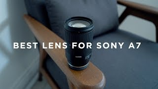 The BEST All Round Lens for Sony A7 - Tamron 28-75mm f/2.8 Review