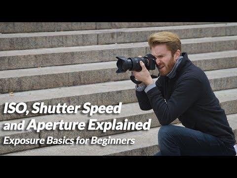 ISO, Shutter Speed and Aperture Explained | Exposure Basics for Beginners