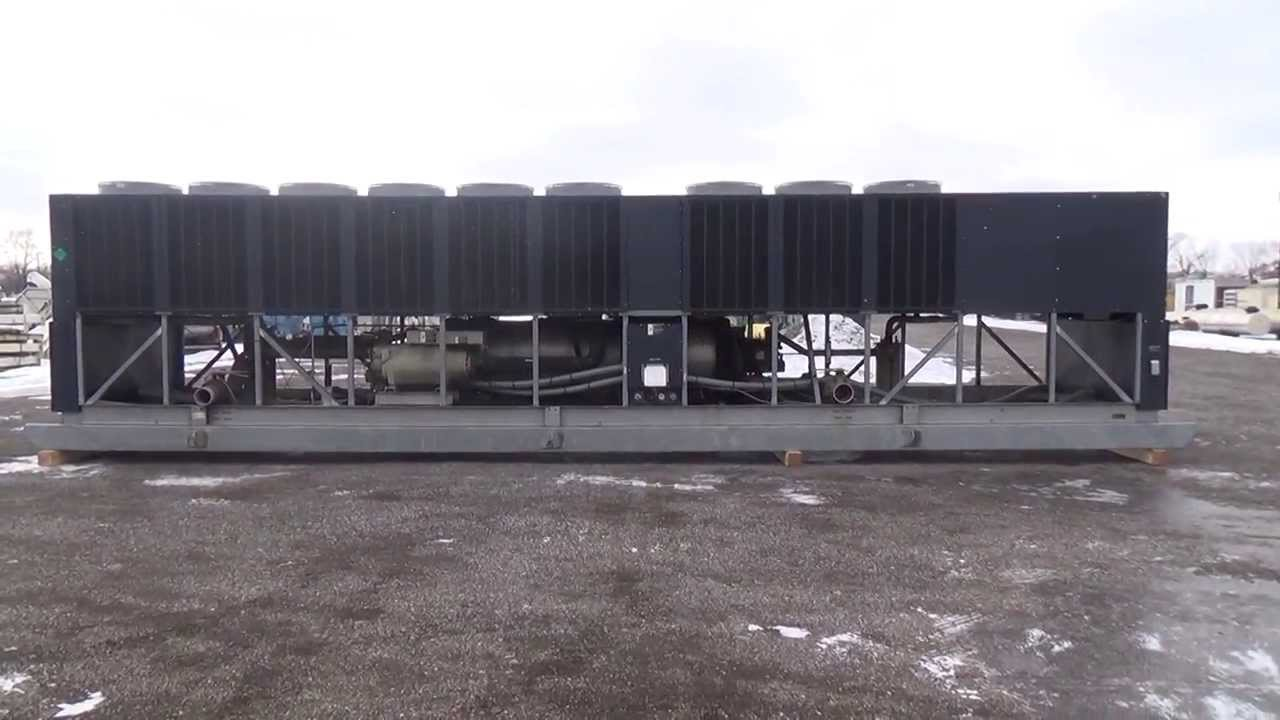 Used Trane Air Cooled Helical Rotary Liquid Chiller