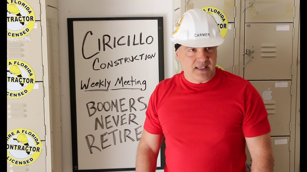 Baby Boomers Never Retire | The Construction Comic | Carmen Ciricillo