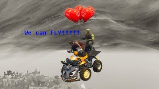 First Flying Car in Fortnite!!!!!!