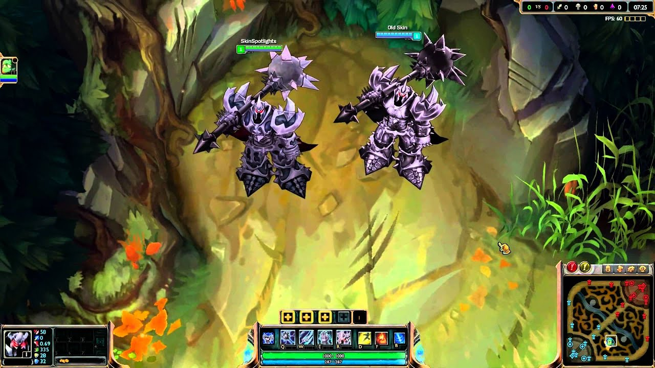 Mordekaiser Texture Update All Affected Skins Youtube