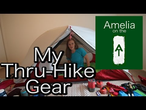 Amelia on the AT - My Thru-Hike Gear