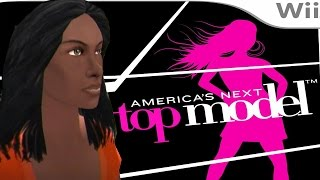Tara Working on Mix Tape  - America's Next Top Model #10 (Wii Let's Play)