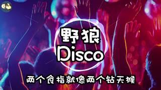 [野狼Disco] by 宝石gem 歌词版 抖音上一首超欢快的土味说唱带你摇进90年代迪厅