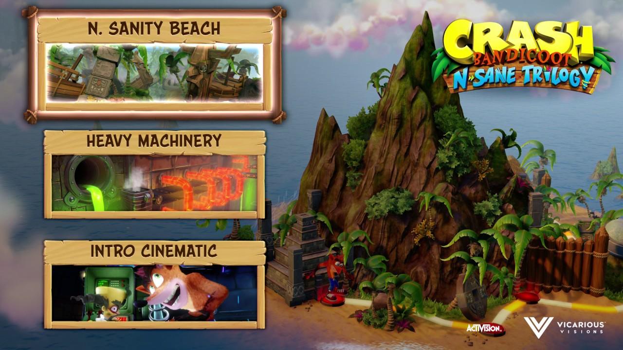 Crash Bandicoot N. Sane Trilogy Game