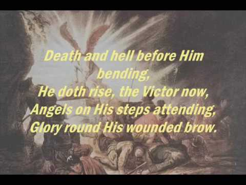 Christ is Risen! Hallelujah - Organ With Lyrics - Easter Triumphant Hymn