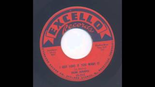 SLIM HARPO - I GOT LOVE IF YOU WANT IT - EXCELLO