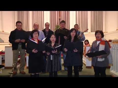 English/Indonesian Christian Songs - Silent Night, Drummer Boy - Metuchen Reformed Church Choir