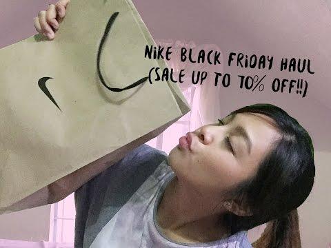 NIKE BLACK FRIDAY HAUL 2016 (70% OFF on items!)