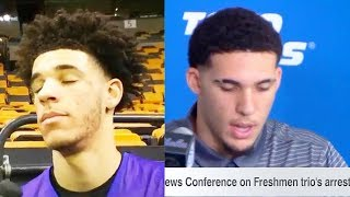 Lonzo Ball Reacts To LiAngelo Ball CONFESS TO STEALING IN CHINA AND GETTING SUSPENDED FROM UCLA