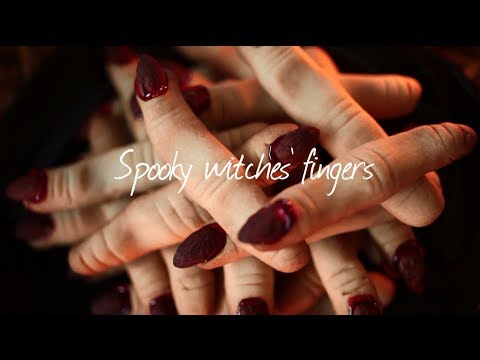 How To Make Witches' Fingers - Halloween Recipe Video