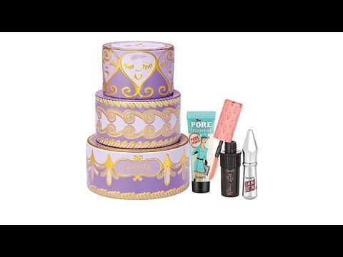 b565f96db10 Benefit Cosmetics Confection Cuties MiniMakeup Trio - YouTube
