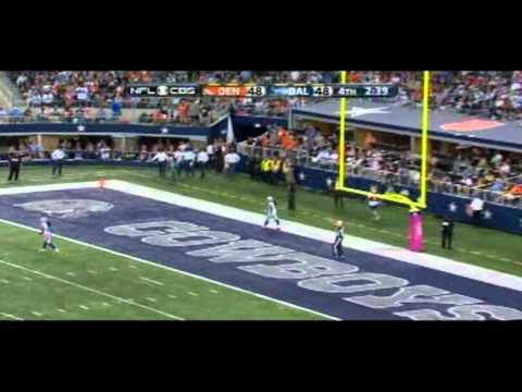 Broncos vs Cowboys classic 51-48 game on 10/6/13