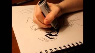 How to Draw - Kagome Higurashi - Inuyasha - Time Lapse Drawing