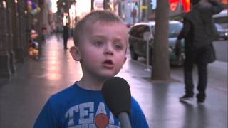 A British Kid Tells the Story of Christmas... VERY fanny kid