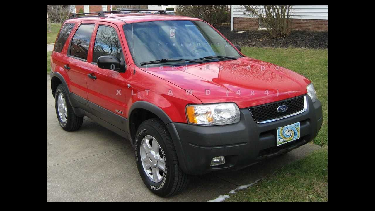 2001 ford escape xlt awd