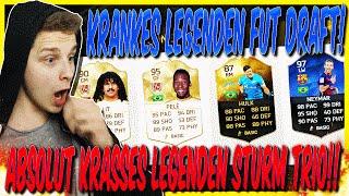 KRANKES STURM TRIO MIT LEGENDE! - FIFA 16: ULTIMATE TEAM FUT DRAFT (DEUTSCH)