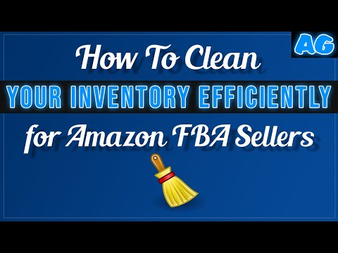 How To CLEAN Your Inventory EFFICIENTLY (Amazon FBA Beginner Resell Guide)