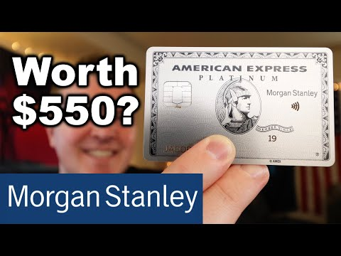 Morgan Stanley Platinum Card UNBOXING + Review
