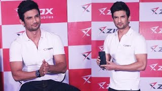 Sushant Singh Rajput At Launch Of Ziox Super Star Smartphone
