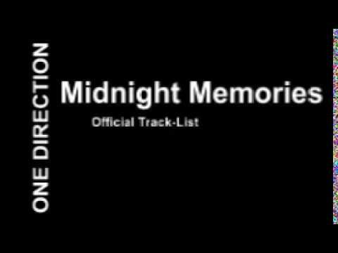 One Direction - Midnight Memories Official Track Listing