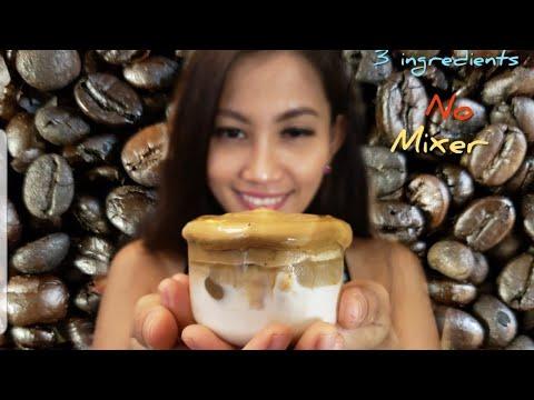 VIRAL DALGONA COFFEE TANPA MIXER||CARA MEMBUAT COFEE ...