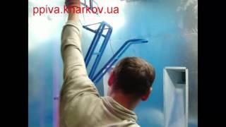 Трибостатический краскопульт при покраске порошковой краской