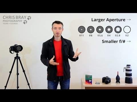 Aperture & Depth of Field made EASY - Photography Course Pt 5