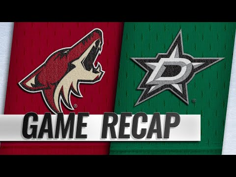 Bishop, Stars shut out Coyotes in opener