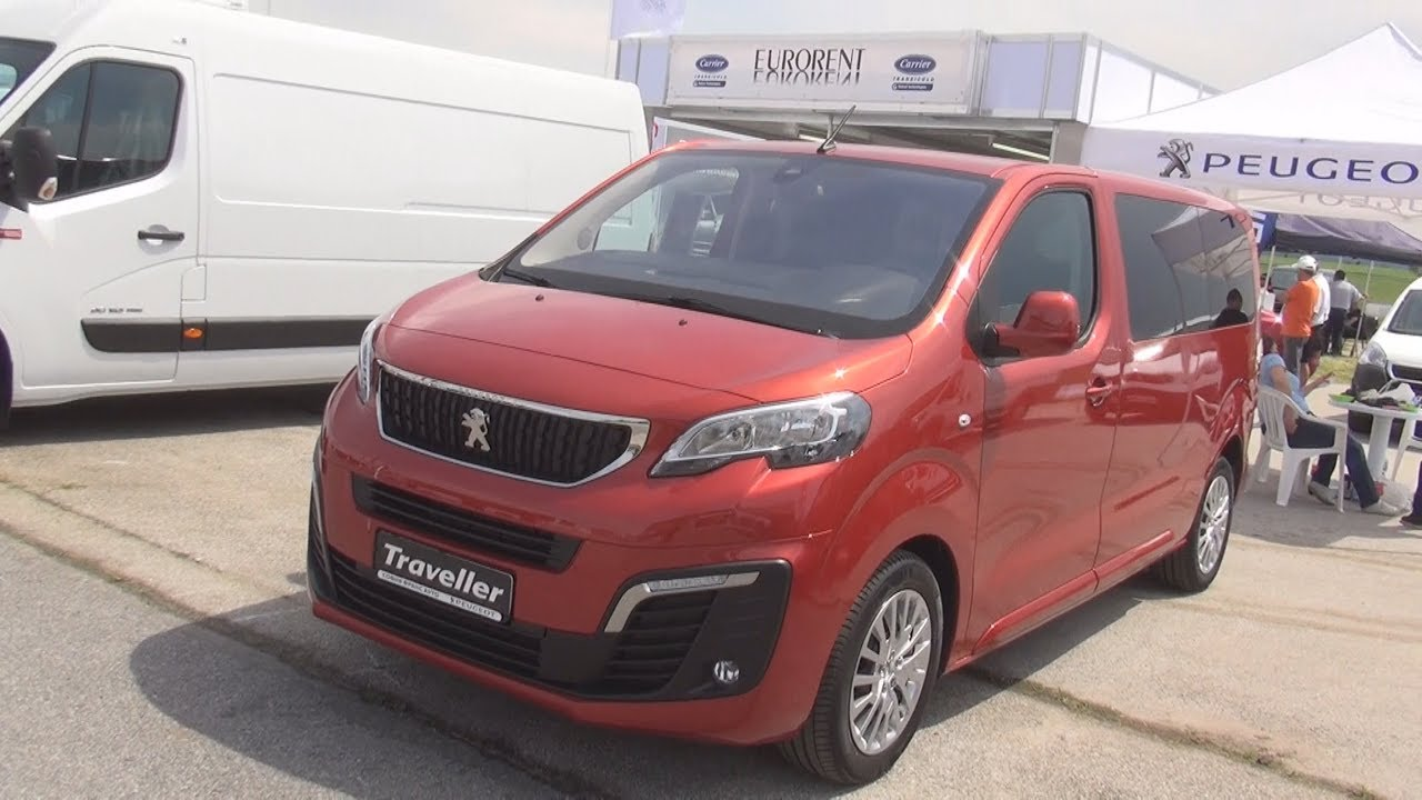 peugeot traveller active standart 1 6 bluehdi 115 s s 2017 exterior and interior youtube. Black Bedroom Furniture Sets. Home Design Ideas