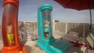 Jenkins go to Sunsplash Water Park Roseville, California USA 2014