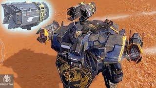 Lancelot With NEW MRK II Exodus Demolition Gameplay   Solo Champion League   War Robots