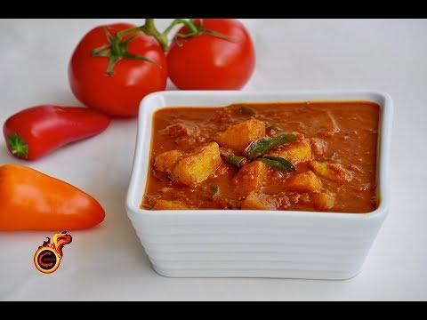 Spicy Urulakizhangu Curry    ചിക്കൻ ഇല്ലാത്ത ചിക്കൻ കറി    Spicy  -Easy- Tasty Potato Curry  Ep:366