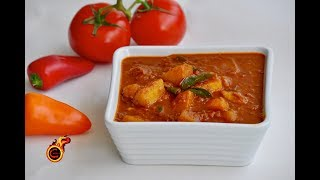 Spicy Urulakizhangu Curry  ||ചിക്കൻ ഇല്ലാത്ത ചിക്കൻ കറി || Spicy  -Easy- Tasty Potato Curry||Ep:366