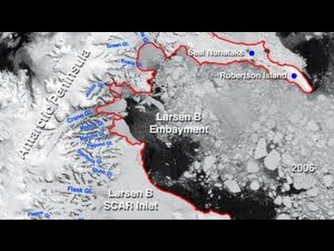 Could Abrupt Ice Shelf Collapse Lead to Extinction Event?