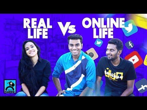 Real Life Vs Online Life   Athu Ithu with Ayaz   Black Sheep