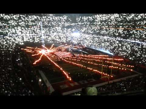 LADY GAGA At Super Bowl LI 51 Halftime Show Live In Concert Houston TX Texas February 5,2017