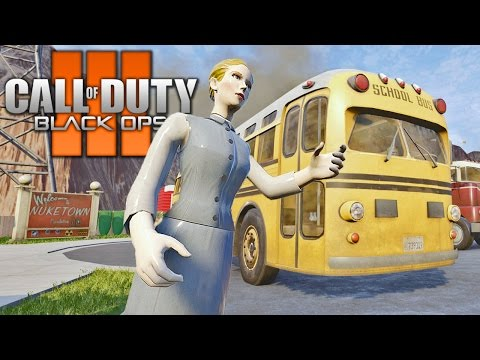 BO1 NUKETOWN REMAKE IN BLACK OPS 3! SURVIVAL MODE Call of Duty BO3 Mod Gameplay