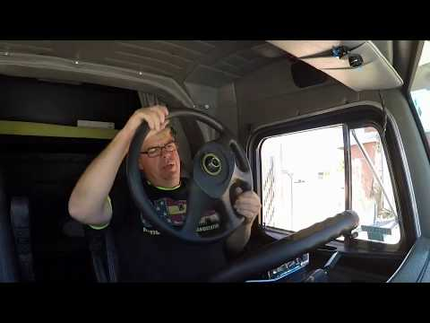 #164 Replacing Peterbilt Steering Wheel The Life Of An Owner Operator Flatbed Truck Driver Vlog