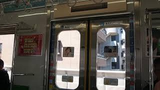 東急9020系 デハ9423 高津→溝の口(三菱SiC その2)