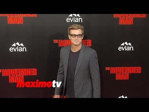 Simon Baker | The November Man Premiere | Red Carpet Arrivals | The Mentalist