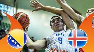 LIVE 🔴 - Bosnia and Herzegovina v Iceland - QF - FIBA U16 European Championship Division B 2018