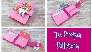 DIY // Como hacer tu propia billetera de fommy o goma eva, super fácil y bonita