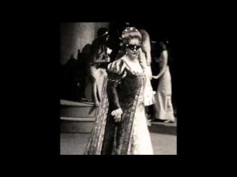 Montserrat Caballé becomes famous overnight replacing Marilyn Horne