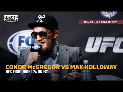 MMA Fighting Archives: Conor McGregor Bests Max Holloway at UFN 26
